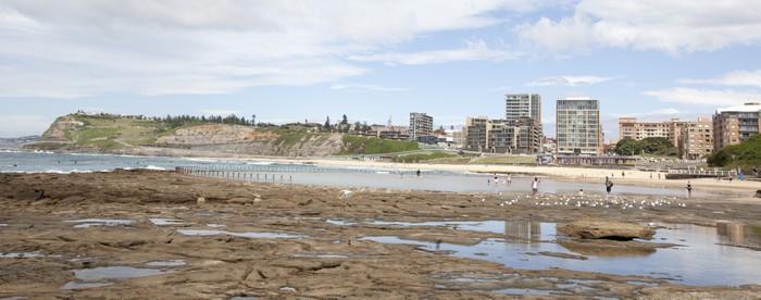 Vinylová Tapeta Newcastle beach - Oceánie