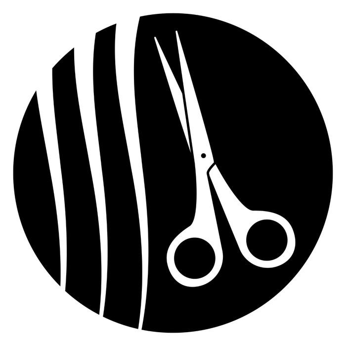 papier peint ciseaux avec coiffure symbole de coiffure pixers nous vivons pour changer. Black Bedroom Furniture Sets. Home Design Ideas