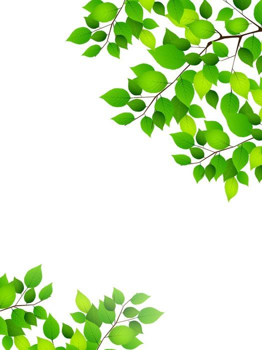 Sticker feuille plante fond pixers nous vivons pour for Plante 9 feuilles