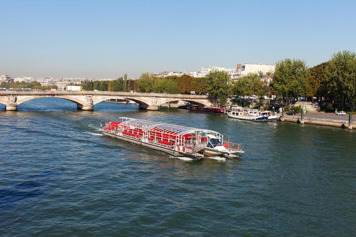 Vinylová Tapeta Seine řeka, Paříž. - Evropská města