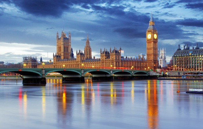 London - Big ben and houses of parliament, UK Wall Mural - Vinyl -