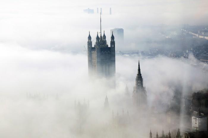 Vinylová Tapeta Těžká mlha hity Londýn - Evropská města