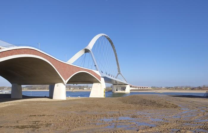 Vinylová Tapeta Nový obloukový most - Infrastruktura