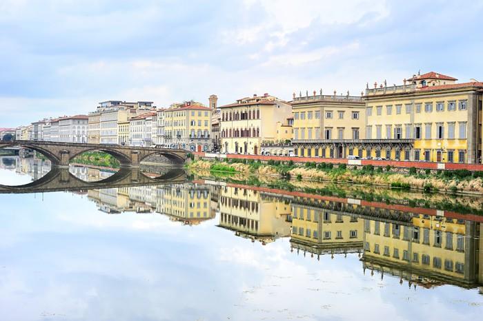 Vinylová Tapeta Florencie Panoráma - Evropa