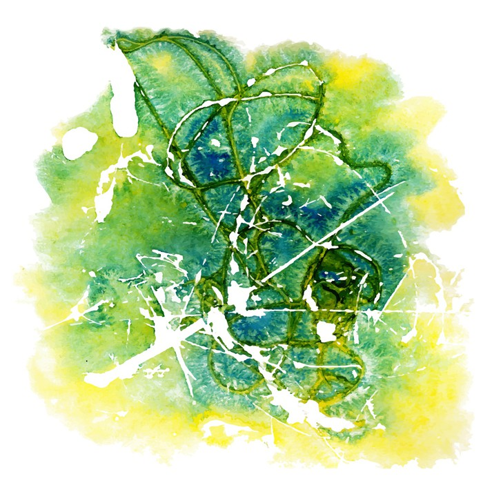 Vinylová Tapeta Akvarela - Umění a tvorba