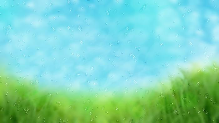 Vinylová Tapeta Rainy okno s výhledem do krajiny - Roční období