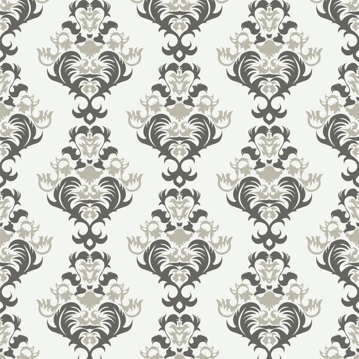 Vinylová Tapeta Floral vintage pozadí, vzor - Pozadí