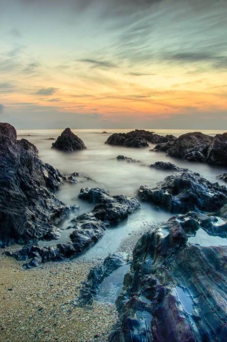 Vinylová Tapeta Kemasik Beach - Asie