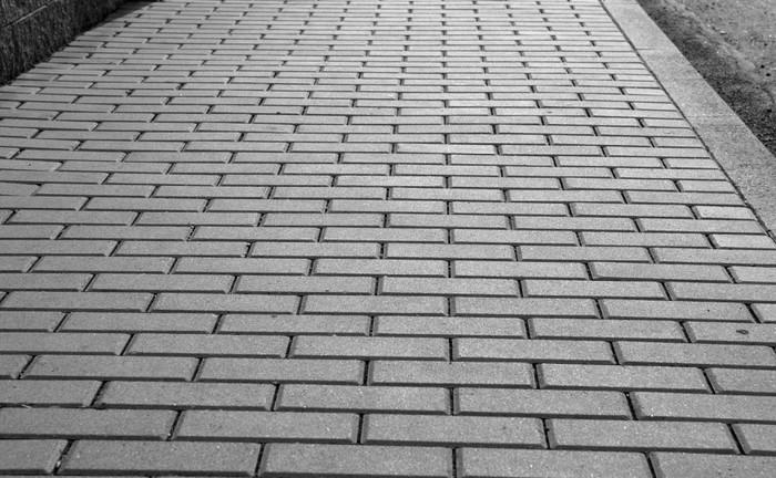 Vinylová Tapeta To je chodník pro chodce z betonových cihel - Pozadí