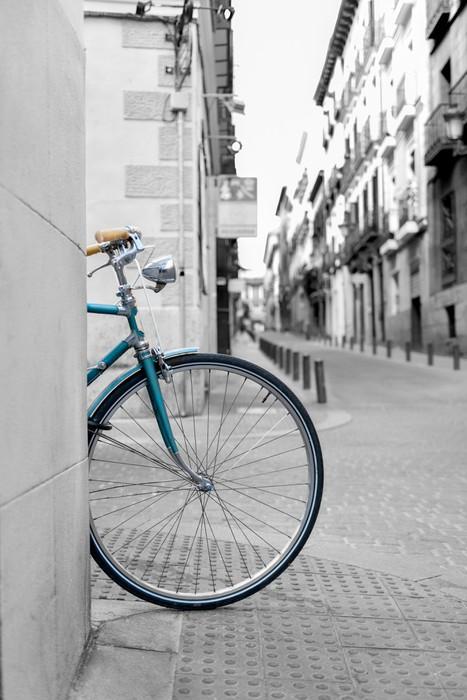 Fototapete fahrrad rad pixers wir leben um zu ver ndern for Fahrrad minimalistisch