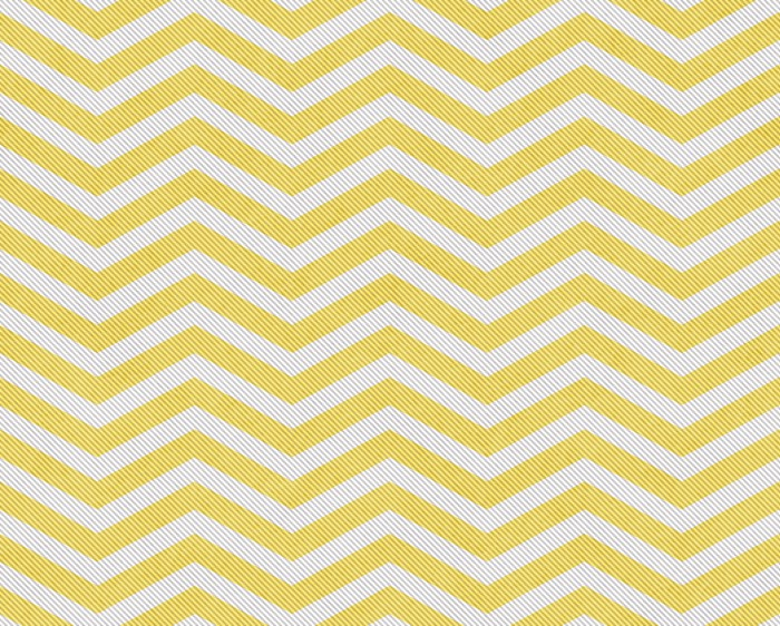 Pale Yellow and White Zigzag Textured Fabric Background Wall Mural ...