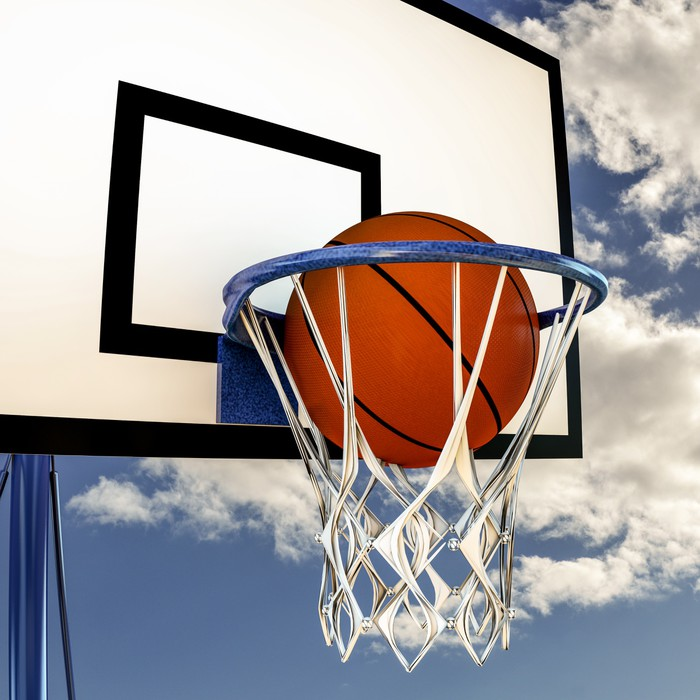sticker balle qui rebondit sur un panneau de basket ball pixers nous vivons pour changer. Black Bedroom Furniture Sets. Home Design Ideas