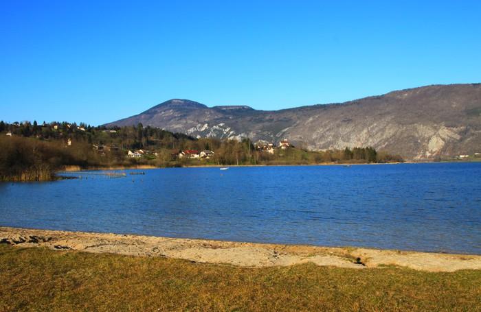 Vinylová Tapeta Lac d'Aiguebelette - Evropa