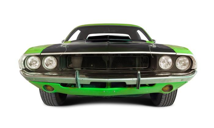 Vinylová Tapeta Muscle car - Nálepka na stěny