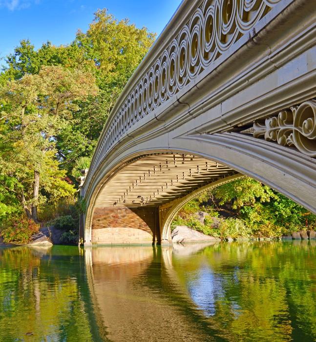 Vinylová Tapeta Central Park Bridge, Manhattan New York - Americká města