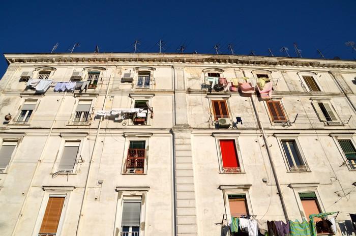 Vinylová Tapeta Colours of Neapol, Itálie - Evropa