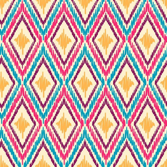 Vinylová Tapeta Tribal bezešvé vzor - Styly