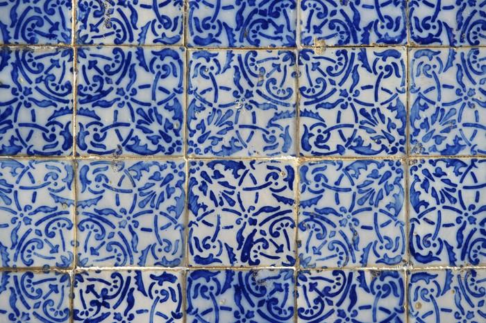 fototapete portugiesisch brasilianisch colonial azulejo fliesen sao luis brasilien pixers. Black Bedroom Furniture Sets. Home Design Ideas
