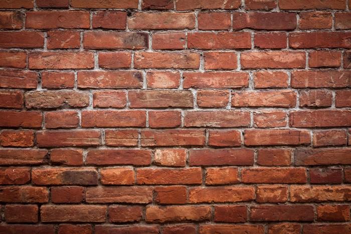sticker mur de brique rouge vieux grunge texture pixers nous vivons pour changer. Black Bedroom Furniture Sets. Home Design Ideas
