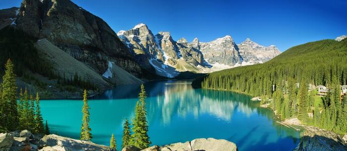 Vinylová Tapeta Lake Moraine, Banff národní park - Témata