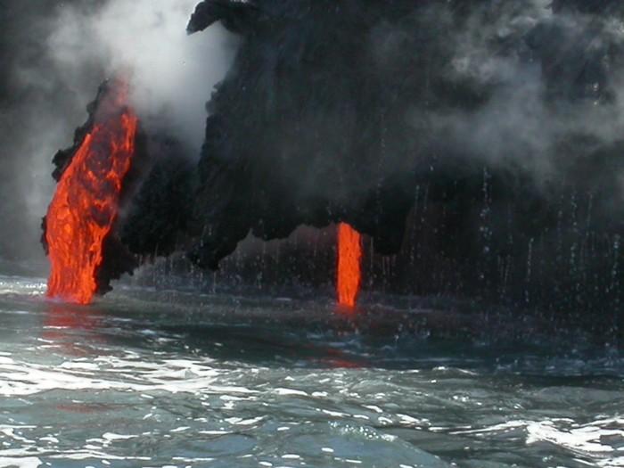Vinylová Tapeta Kilauea - Přírodní katastrofy