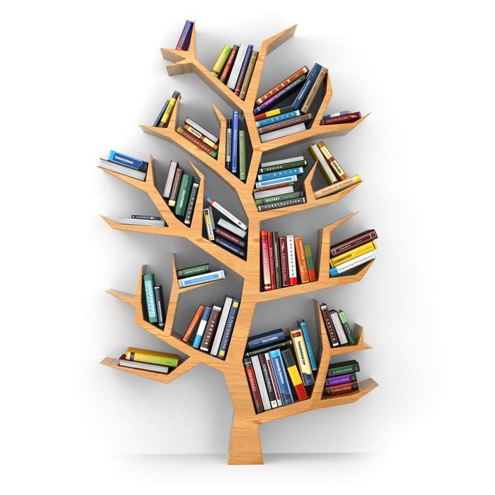 Carta da parati albero della conoscenza pixers for Carta da parati vinile