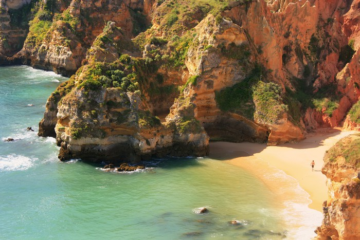 Nálepka Pixerstick Ponta de Piedade v Lagos, Algarve, Portugalsko - Evropa