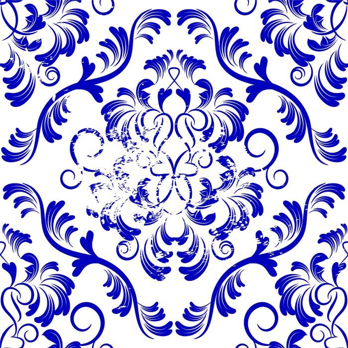 papier peint vecteur toile de fond sans soudure motif de damass papier peint fleurs. Black Bedroom Furniture Sets. Home Design Ideas