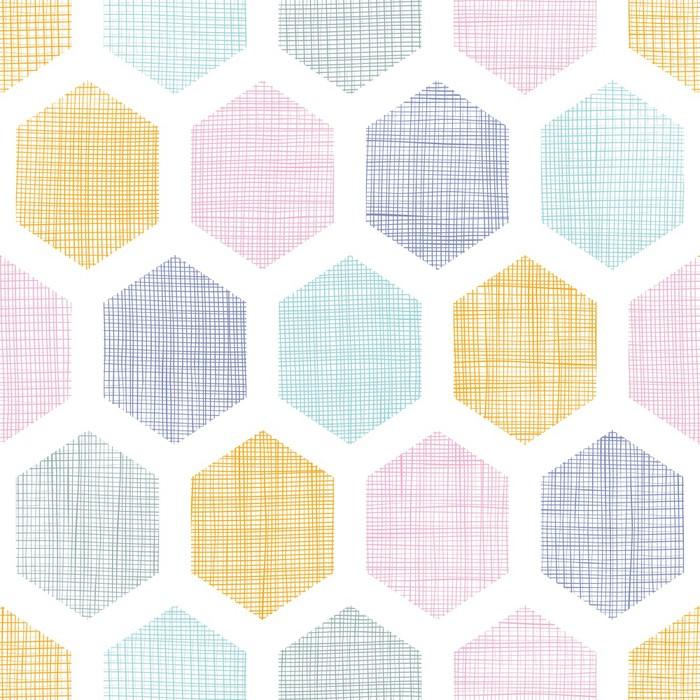 sticker r sum tissu color en nid d 39 abeille texture seamless pixers nous vivons pour changer. Black Bedroom Furniture Sets. Home Design Ideas