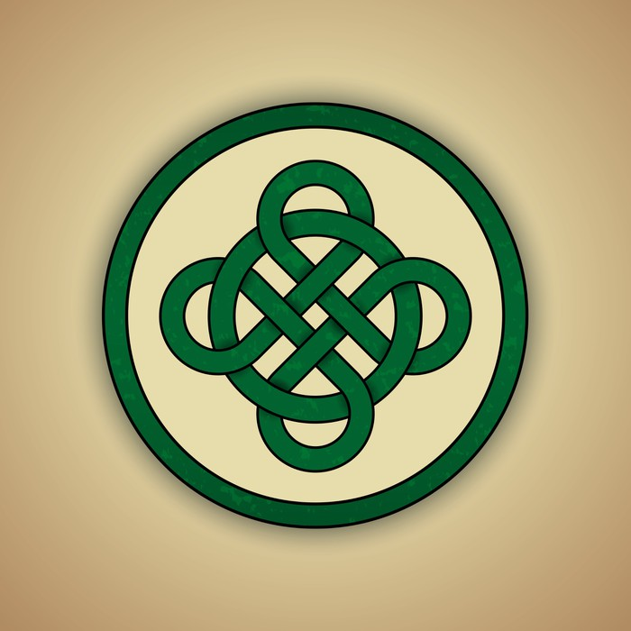 Celtic Knot Symbol Of Luck Wall Mural Pixers We Live To Change