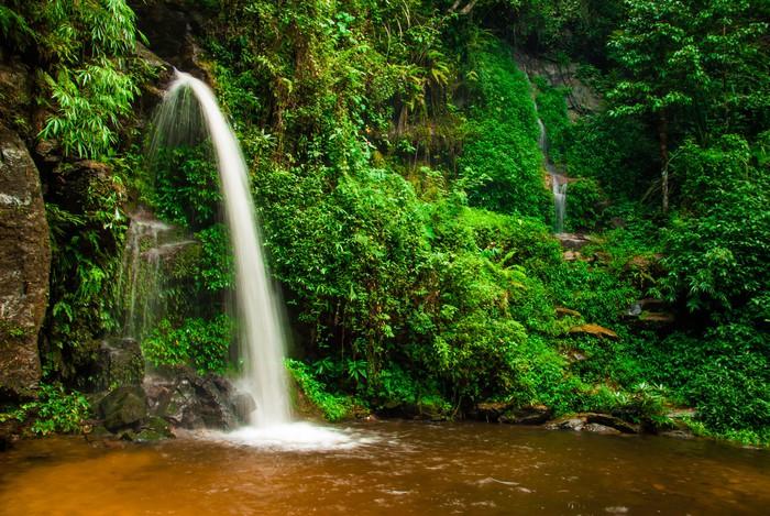 Vinylová Tapeta Doi Suphet národní park vodopád, Chang Mai, Thajsko - Témata