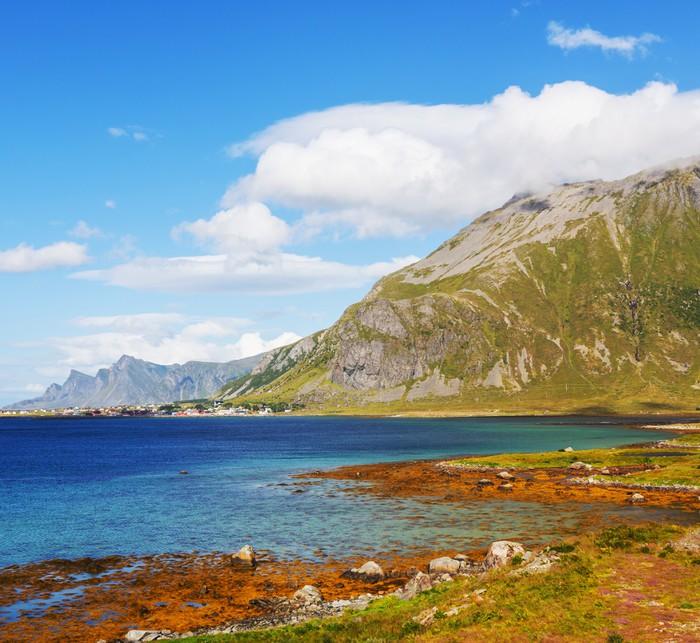 Vinylová Tapeta Norsko krajiny - Příroda a divočina