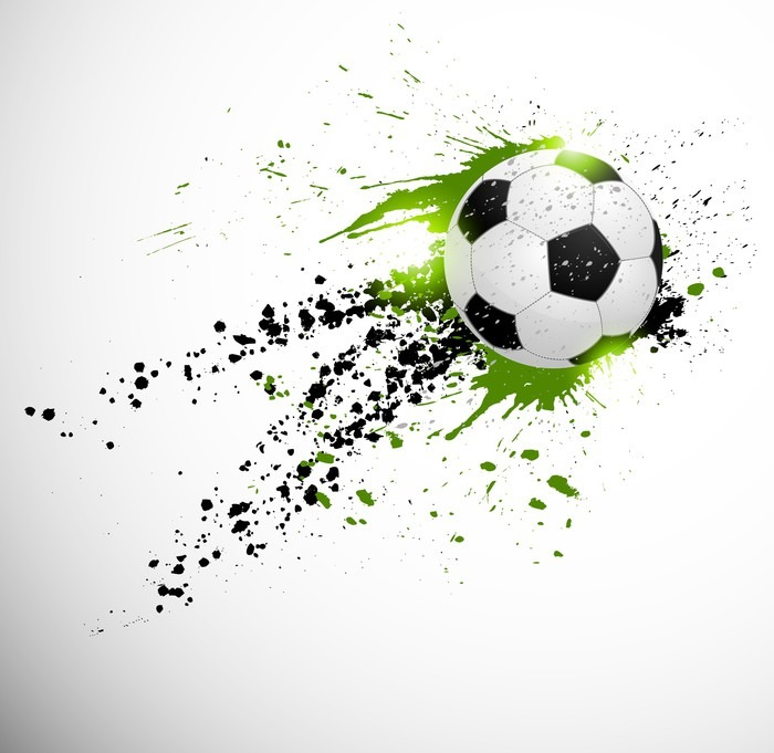 Flying Soccer Ball Wall Mural Pixers 174 We Live To Change