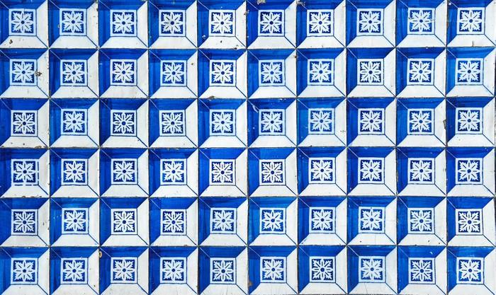 Aufkleber Azulejos Traditionelle Portugiesische Fliesen Pixers - Portugiesische fliesen azulejos
