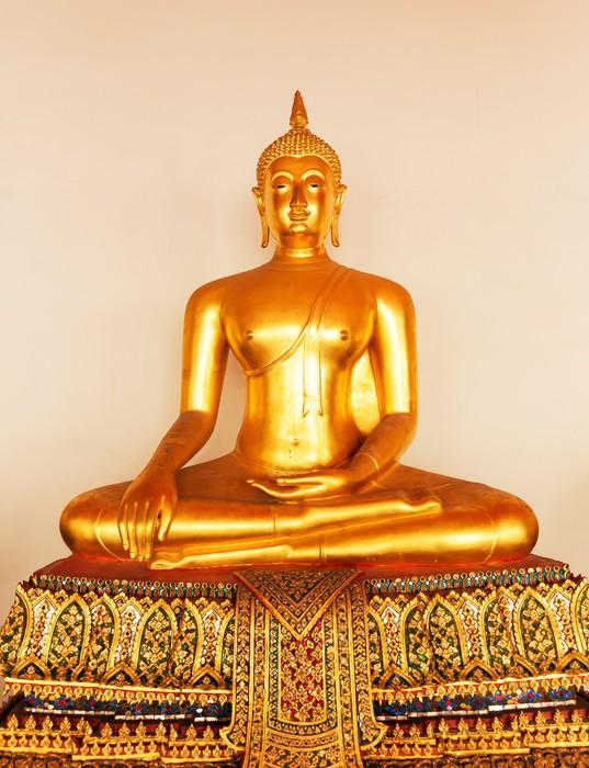 Vinylová Tapeta Buddha ve Wat Po chrámu - Témata