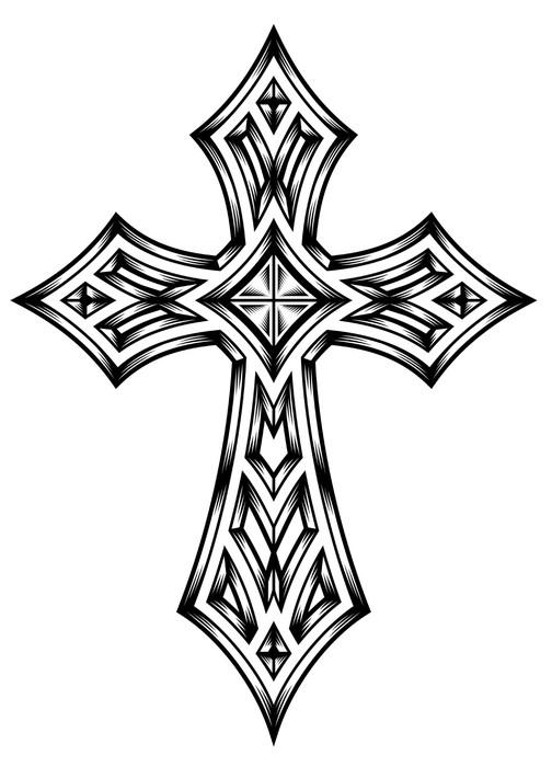 Vinylová fototapeta Heraldický kříž - Vinylová fototapeta