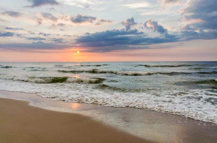 Vinylová Tapeta Sea sunset - Prázdniny