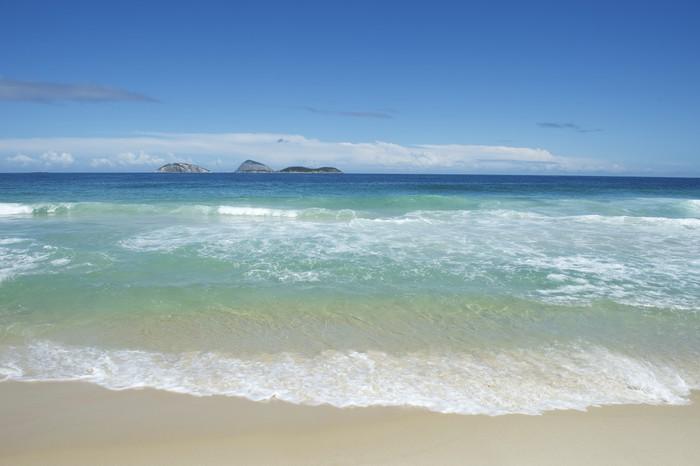 Vinylová Tapeta Pláže Ipanema Rio de Janeiro Brazílie Scenic ostrovy - Americká města