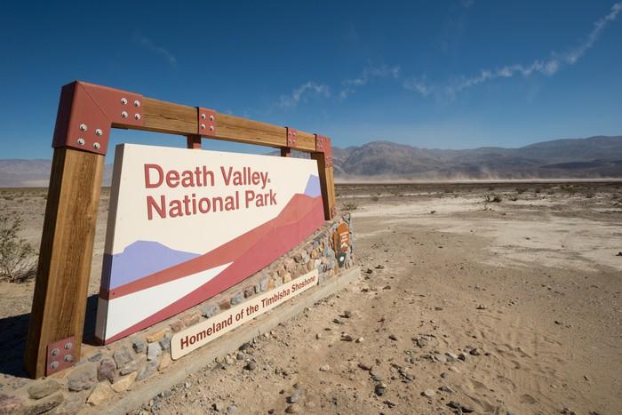 Vinylová Tapeta Národní park Death Valley - Amerika