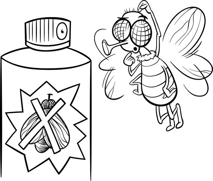 Fotomural Volar y Colorear repelente de insectos • Pixers® - Vivimos ...