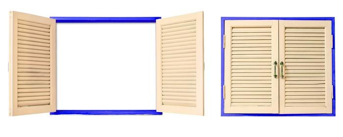 papier peint fen tre en bois sur isol pixers nous vivons pour changer. Black Bedroom Furniture Sets. Home Design Ideas