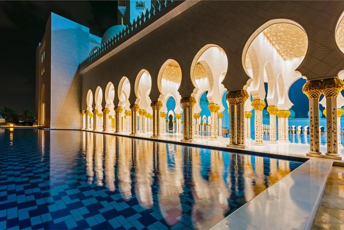 Vinylová fototapeta Shaikh Zayed Mosque - Vinylová fototapeta