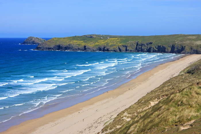 Vinylová Tapeta Perranporth pláž, Cornwall - Prázdniny