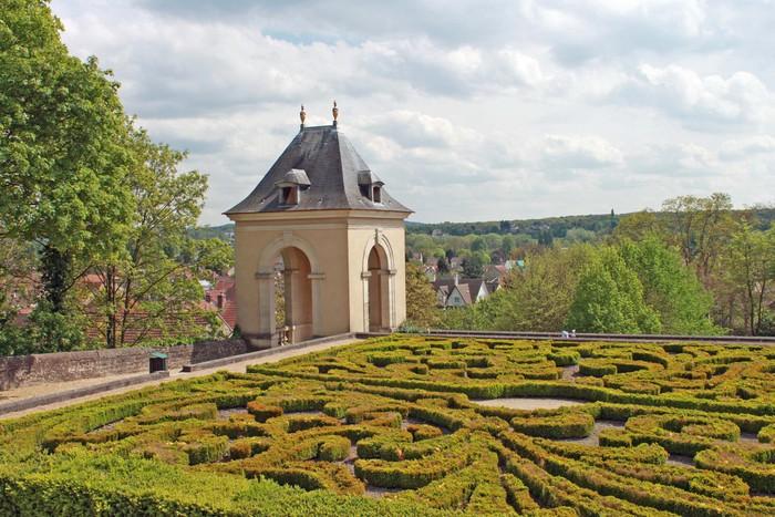 Vinylová Tapeta Chateau d'Auvers sur Oise - Evropa