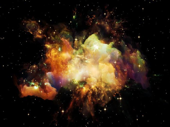 Plakát Nebula Lights - Přírodní krásy