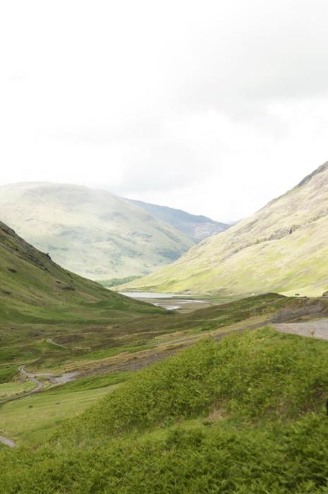 Vinyltapet The Highlands, Skottland - Europa