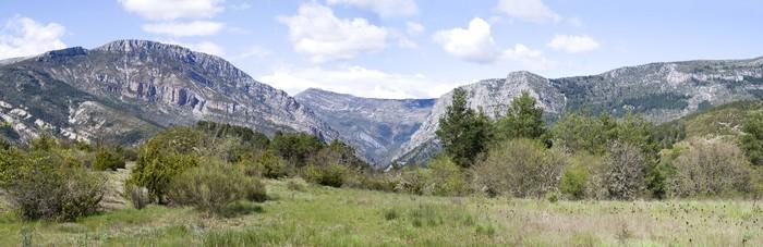 Vinylová fototapeta Verdon Regional Park Natural, jihovýchodní Francie - Vinylová fototapeta