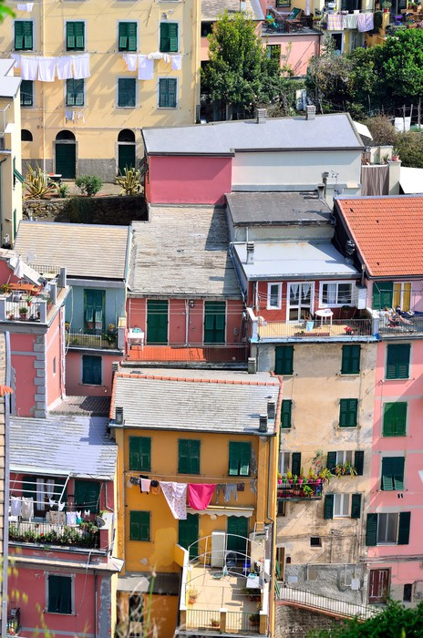 Vinylová Tapeta Cinque Terre, Itálie - Riomaggiore barevné rybáři vesnice. - Evropa