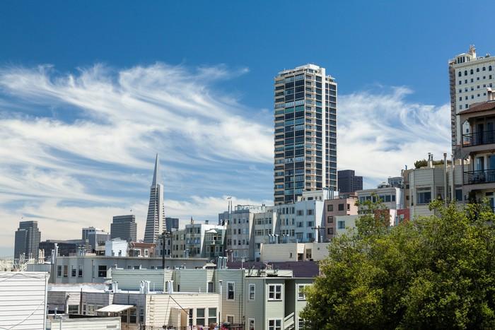 San Francisco California Wall Mural Pixers 174 We Live