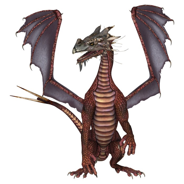 Red dragon wall mural pixers we live to change for Dragon wall mural